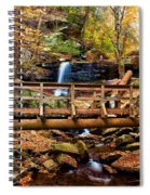 Bridge By B Reynolds Falls Spiral Notebook