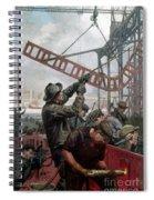 Bridge Construction 1909 Spiral Notebook