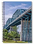 Bridge From The Park Spiral Notebook