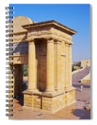 Bridge Gate In Cordoba Spiral Notebook