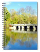 Bridge In A Park Spiral Notebook