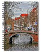 Bridge Of Delft Spiral Notebook