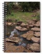 Bridge Of Rocks Across The River Spiral Notebook