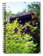 Bridge Over Ausable Chasm Spiral Notebook