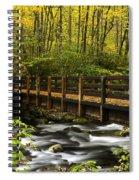Bridge Over Oconaluftee Spiral Notebook