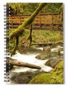 Bridge Over Paradise Spiral Notebook