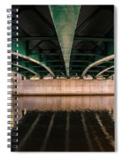 Bridge Over The Connecticut River Spiral Notebook