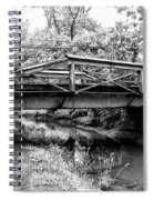 Bridge Over The Delaware Canal At Washington's Crossing Spiral Notebook