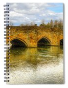 Bridge Over The River Wye Spiral Notebook