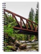 Bridge Over The Snoqualmie River - Washington Spiral Notebook
