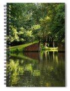 Bridge Over The Wey Navigation In Surrey Spiral Notebook