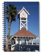 Bridge Street Pier And Clocktower  Spiral Notebook
