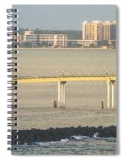 Bridge To Crystal Cay Spiral Notebook
