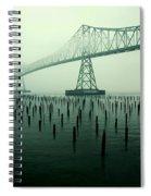Bridge To Nowhere Spiral Notebook