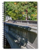 Bridge To Serenity Spiral Notebook