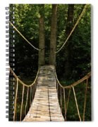 Bridge To The Forest Spiral Notebook