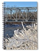 Bridge To Winter Spiral Notebook