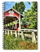 Bridge To Yesterday Spiral Notebook