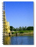 Bridge Up 4 Safe Passage Spiral Notebook