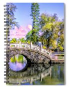 Bridges At Liliuokalani Park Hilo Spiral Notebook