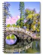 Bridges At Liliuokalani Park Hilo Spiral Notebook