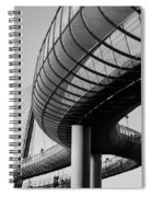 Bridges In The Sky Spiral Notebook
