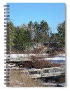 Bridges Spiral Notebook