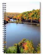 Old Bridge, New Bridge Spiral Notebook