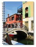 Bridges Of Venice Spiral Notebook