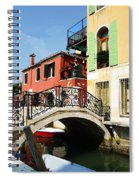Bridges Of Venice Spiral Notebook