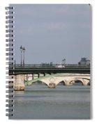 Bridges Over The Seine And Conciergerie - Paris Spiral Notebook