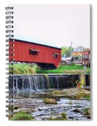 Bridgeton Mill And Covered Bridge Spiral Notebook