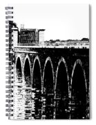 Bridging The Boyne Spiral Notebook