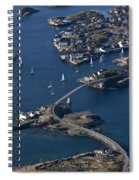 Bridging The Ocean Spiral Notebook