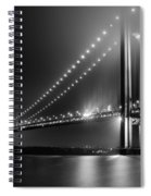 Bridging Verrazano Narrows Spiral Notebook