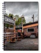 Bridgnorth Railway Station Spiral Notebook