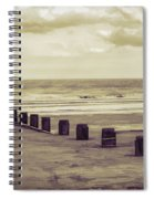 Bridlington Beach Spiral Notebook