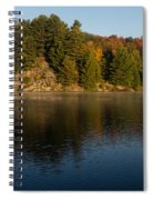 Bright And Sunny Autumn Reflections Spiral Notebook