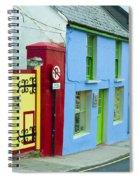 Bright Buildings In Ireland Spiral Notebook
