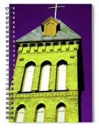 Bright Cross Tower Spiral Notebook
