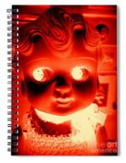 Bright Eyed Kewpie Spiral Notebook