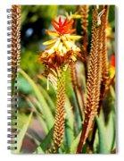 Bright Flower 1 Spiral Notebook