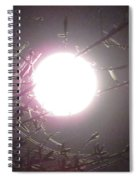 Bright Moon Spiral Notebook