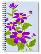 Bright Purple Spiral Notebook