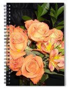 Bright Roses Spiral Notebook