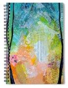 Bright Skies For Dark Days I Spiral Notebook