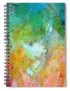 Bright Skies For Dark Days II Spiral Notebook