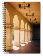 Bright Sun Cool Shade Balboa Park Spiral Notebook