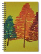 Bright Trees Spiral Notebook