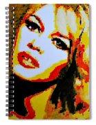 Brigitte Bardot Spiral Notebook